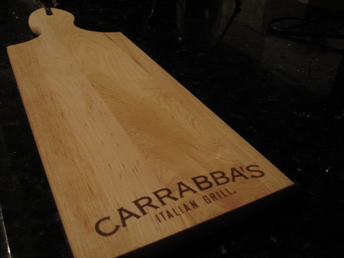 Cheese Board from Carrabba's Event