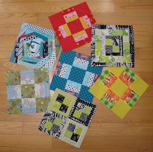 NOLA Modern Quilt Guild Charity Blocks