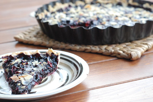 mustikapirukas/blueberry pie