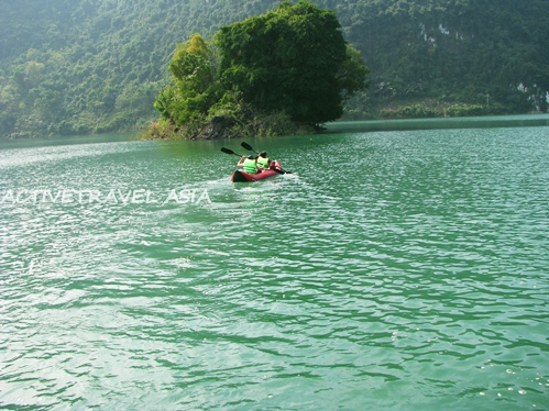 Ba Be lake, Bac Kan, Vietnam