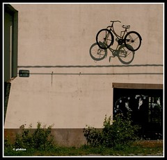Nationale 4, km 42 (glidblue) Tags: road shadow bike bicycle flying belgium ombre route 1001nights bicyclette vlo namur wallonie volant chausse provincedenamur aplusphotos nationale4 glidblue