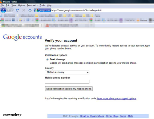 Reclaim Google Account
