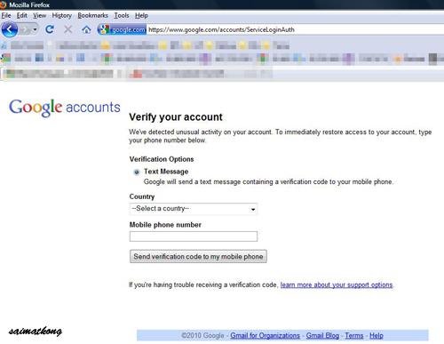 Reclaim Google Account