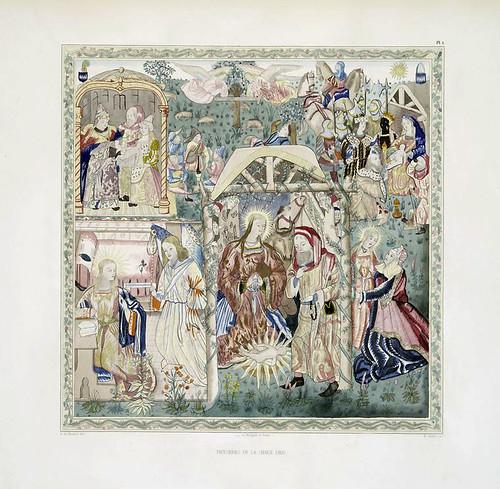 008-Tapiceria de la Chaise Dieu-Les anciennes tapisseries historiées…1838- Achille Jubinal