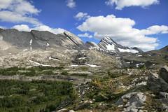 i'll be back tomorrow (Veronika Lake) Tags: canada mountains kananaskis view hiking glacier alpine alberta rockymountains canadianrockies dayhike burstallpass peterlougheedprovincialpark mountsirdouglas