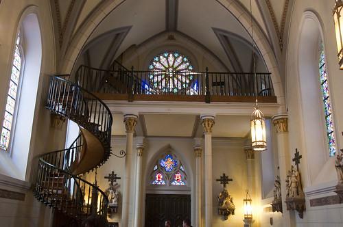 Santa Fe  Loretto Chapel (1873)  Miraculous Stairway