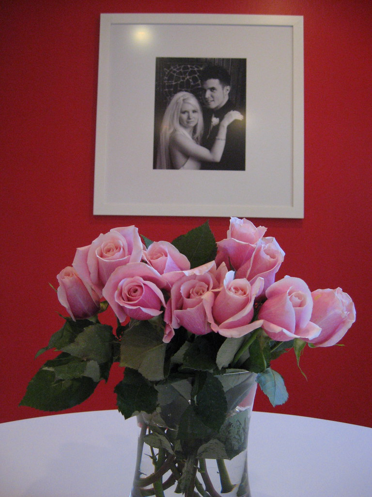 Roses from Cody - 7 year Anniversary {Aug 16, 2010}