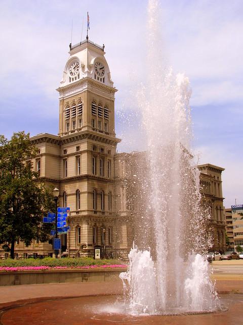 Louisville City Hall & Fountain
