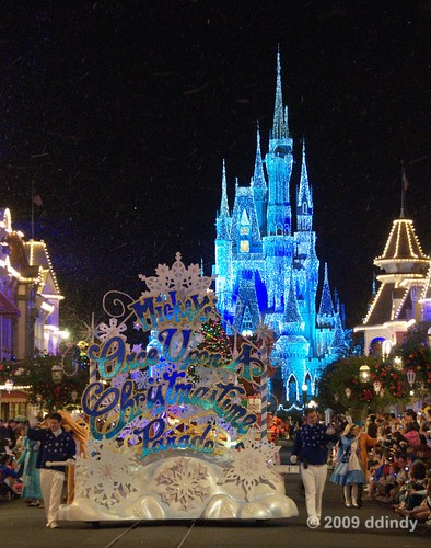 A snowy evening in Orlando