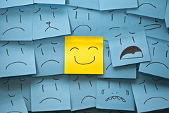 You're like a ray of sunshine through the sadness (Smackthatbird) Tags: blue cute yellow canon happy franklin virginia sad faces drawing creative adorable 100mm artsy roanoke 5d postits stickies emotions postitnotes rockymount smilies sadface sadfaces 5dmarkii