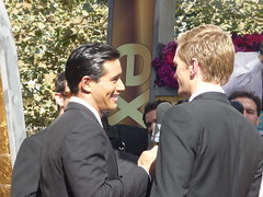 Mario Lopez and Neil Patrick Harris at 2008n