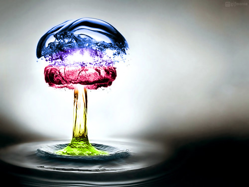 Coloured Water Explosion