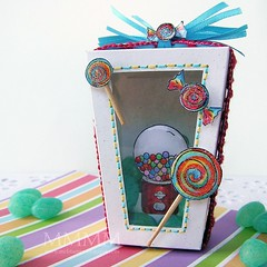 {Sweet} Surprise Box mel_stampz (melstampz) Tags: birthday kids candy boxes treat favors lps favours littlepapershop