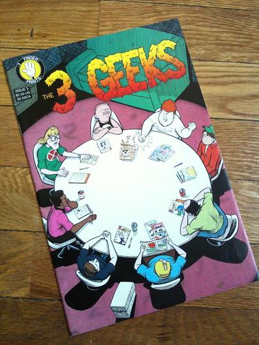 3 Geeks Comic