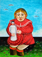 niña con muñeca (donghrr) Tags: