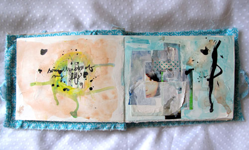 "Art Journal ""lost in relations"" p.2"