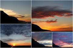 Same place - different sunsets (Slveig Bjrg) Tags: sk kvld slsetur skjlfandi vargsnes