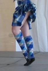 blue and white2 (kilt4142) Tags: socks scotland dance sock kilt dancing legs scottish dancer highland scot knees kilts tartan kilted upkilt