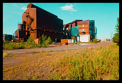 Atlas Steel-Exterior 2 (Sebastian T.) Tags: plant mill abandoned industry rust ruins closed industrial factory steel urbandecay forgotten urbanexploration derelict deserted abandonment decayed dilapidated abandonedbuildings modernruins