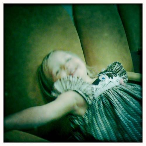 lulu in her seat