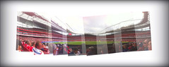 From the North Bank (Lady Gooner) Tags: stadium emirates arsenal northbank magnificentseven clockend hpad2010