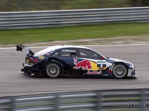 "Mattias Ekström racing his Audi A4 DTM • <a style=""font-size:0.8em;"" href=""http://www.flickr.com/photos/53054107@N06/4917445048/"" target=""_blank"">View on Flickr</a>"