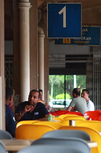 Tanjong Pagar Railway Station - Cafe