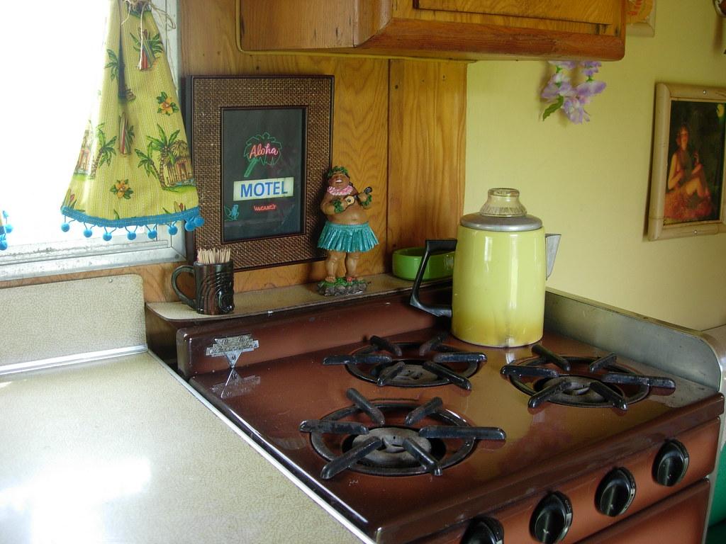 3 burner propane stove/oven