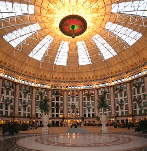 West Baden Springs Hotel at twilight2