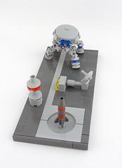 All your base are belong to us (Yloquen) Tags: robot lego walker mecha bot mech aybabtu moc drone