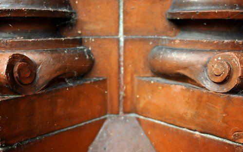 Terracotta Feature By The Doors