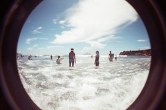 (No Surfing No Life) Tags: county beach lomo harbour taiwan surfing fisheye  yilan  toucheng      wushi