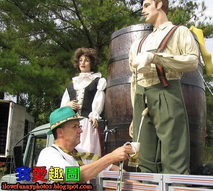 德國人的喝啤酒