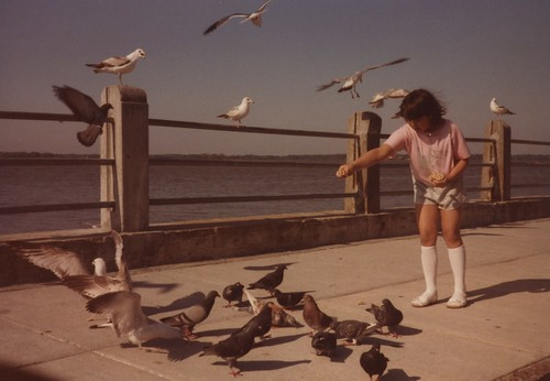 Jenny on the boardwalk 1984