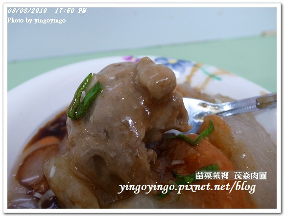 苗栗苑裡_茂焱肉圓990808_R0014155