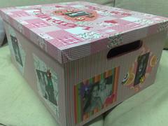 Caixa Lud e Bruno (Arte Detalhes) Tags: artesanato caixa scrapping decoupage trabalhosmanuais encapada artedetalhes