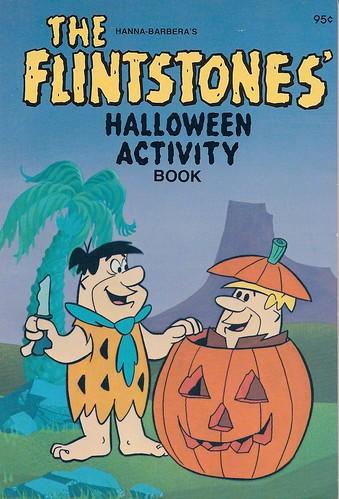 flintstones halloween book 1979 - Flinstones Halloween