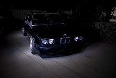 silvernight2 (Stephen Sayer) Tags: black type bmw e30 r3v borbet scwarz stanceworks