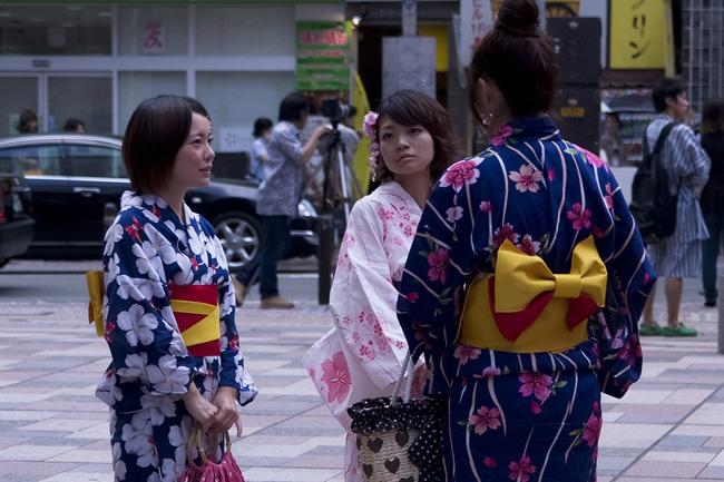 Fukuoka geishas