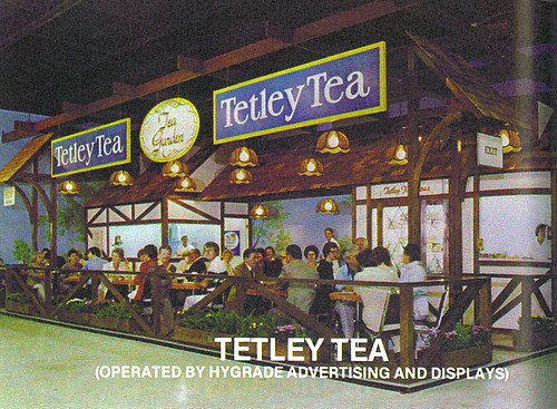 1980 CNE Food Building: Tetley Tea