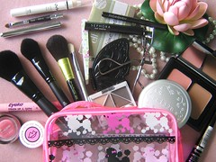What's in my makeup bag? (bea_ichigo) Tags: bag whats cream makeup sigma elf cosmetics stila cram