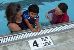 4 feet deep!