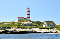 DGJ_8401 - Last Views of the Sambro Island Lighthouse (archer10 (Dennis) (66M Views)) Tags: red lighthouse white house canada island nikon novascotia free historic dennis jarvis strips surplus keepers d300 sambro iamcanadian 18200vr 70300mmvr lighthouseroute dennisjarvis archer10 dennisgjarvis wbnawcnns