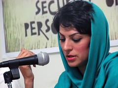 Iranian #humanrights activist Shiva Ahari May ...