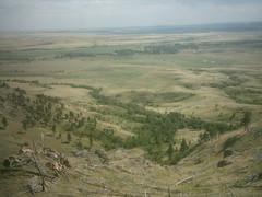 View from Bear Butte, South Dakota
