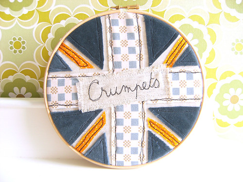 Crumpets wall art