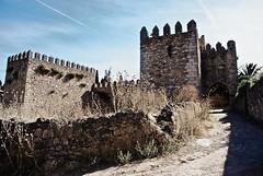 stone walls (Navas) Tags: stone gate moorish nik walls trujillo parched