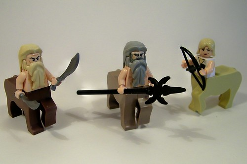 Herd of Centaurs custom minifigs