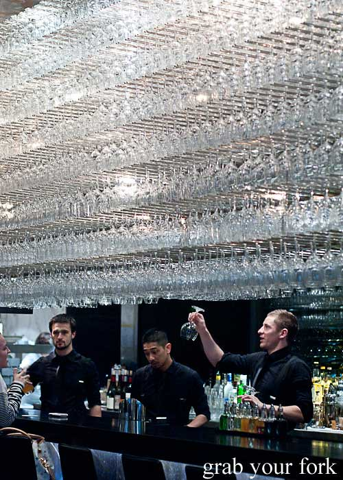 rockpool bar and grill crystal chandelier