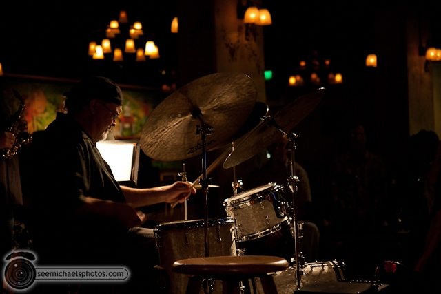 Joshua White Quartet at Dizzys 82610 © Michael Klayman-010